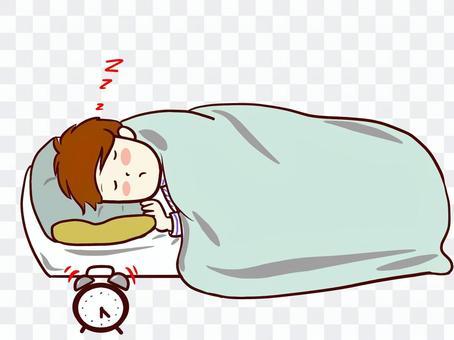 睡覺的cchacha床
