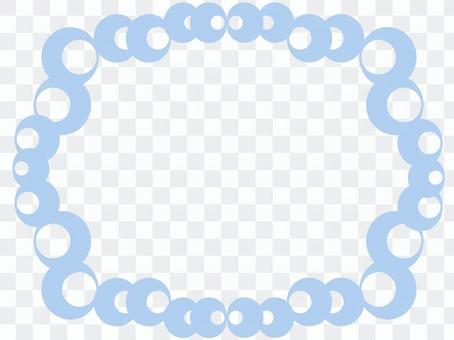 飾り枠(水色)