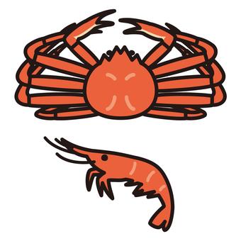 Crustacean crab shrimp