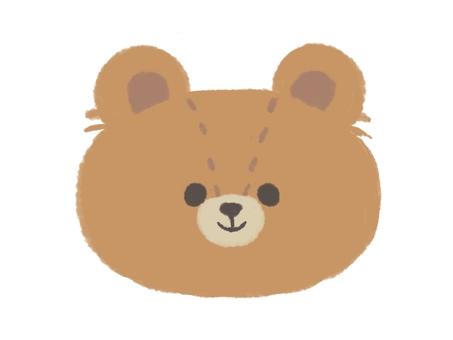 泰迪熊(微笑)