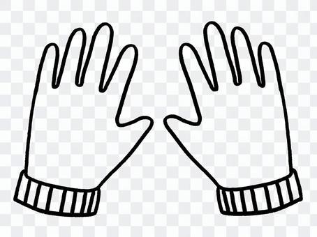手袋(無色)