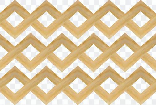 Woodgraining wooden modern art contemporary art geometric pattern