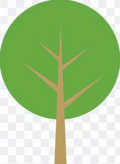 Tree (garden, park, roadside tree)