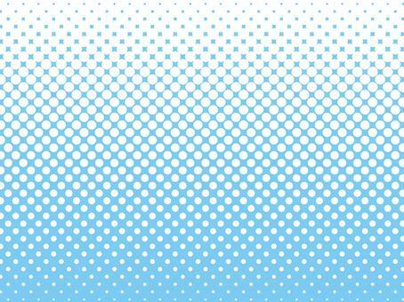 彩色半色調背景材料(淺藍色)