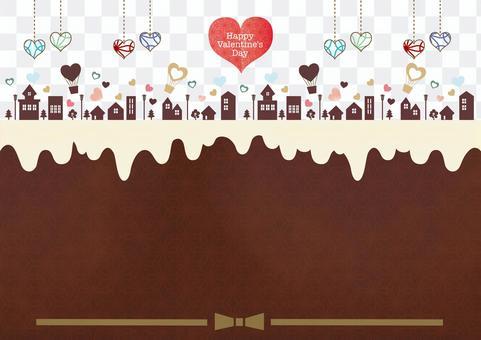 バレンタインのイメージ背景画像