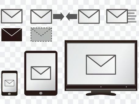 郵件(PC,平板電腦,智能手機)