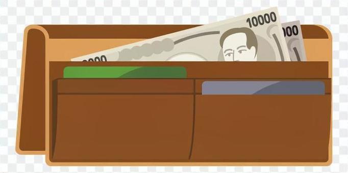 長錢包(棕色