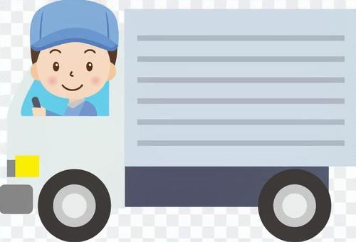 卡车驾驶工人