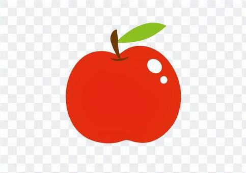 單蘋果插圖(無線)