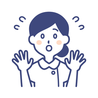 護士女人姿勢舉起雙手
