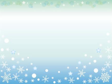 雪水晶_冬天背景