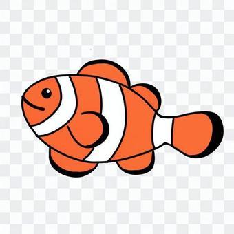 魚(小丑魚)