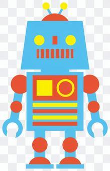 機器人/藍色