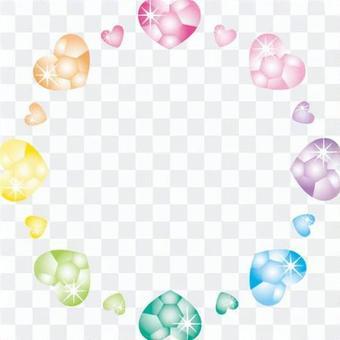 彩虹珠寶(心臟)