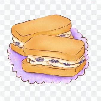葡萄乾三明治