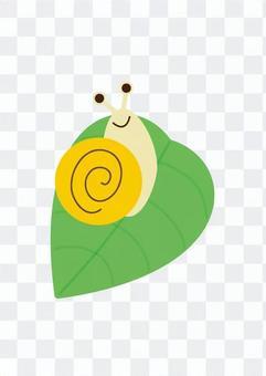 葉子和蝸牛