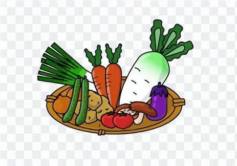 Heavy vegetables