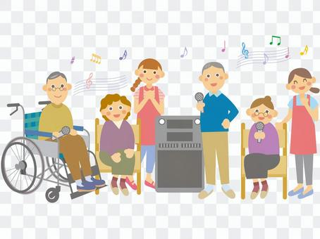 Karaoke tournament with everyone!