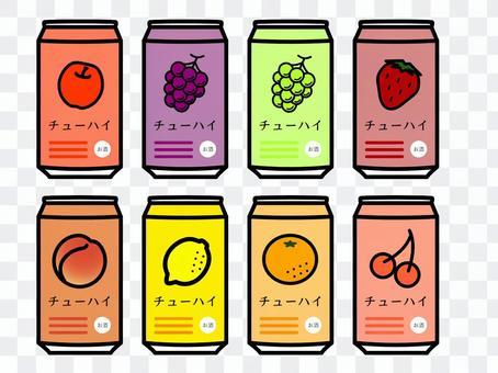 Fruit chuhai liquor set