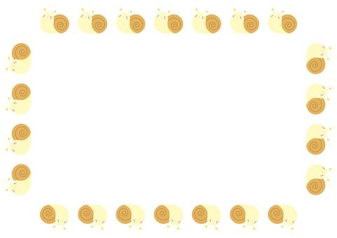 6 frames_snail,無線,矩形