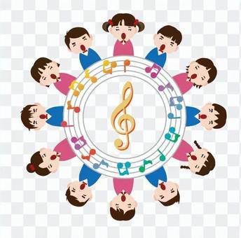 A circle of music