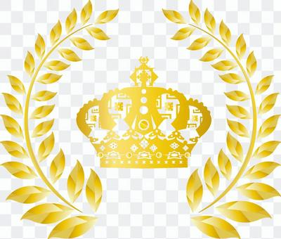 Free illustration Free material Crown frame