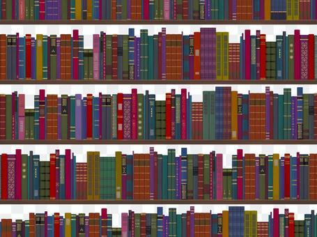 古書の本棚2(昼)