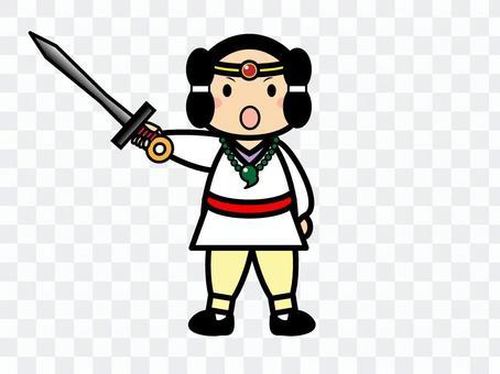 Japanese history male (Mizura)