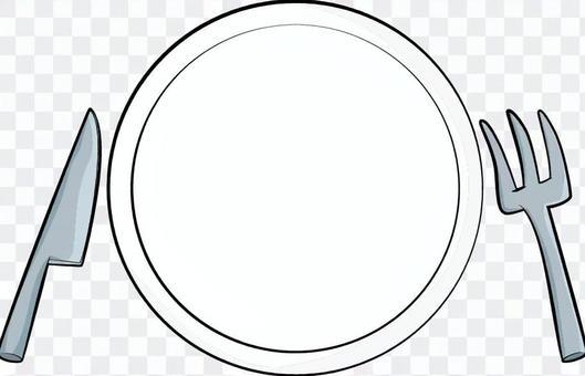 Fork / knife / dish