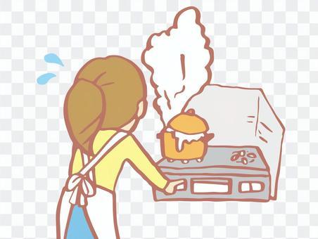Fire (kitchen)