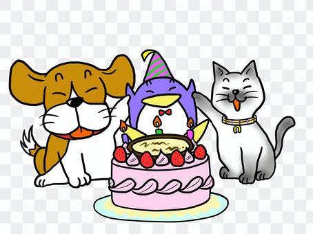 大家慶祝你的生日