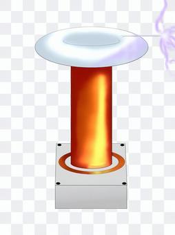 Tesla coil (discharge)