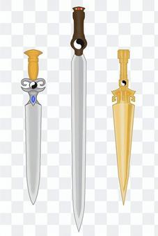幻想武器1-1劍/匕首