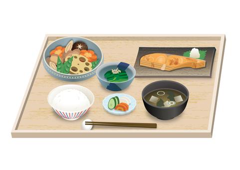 日本料理套餐(三文魚)