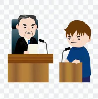 男子判斷指責人的見證立場
