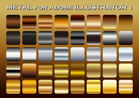 Metal color gradation set 1
