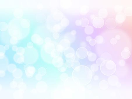 圓形燈光·彩虹色