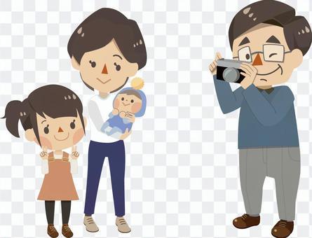 家庭 - 攝影