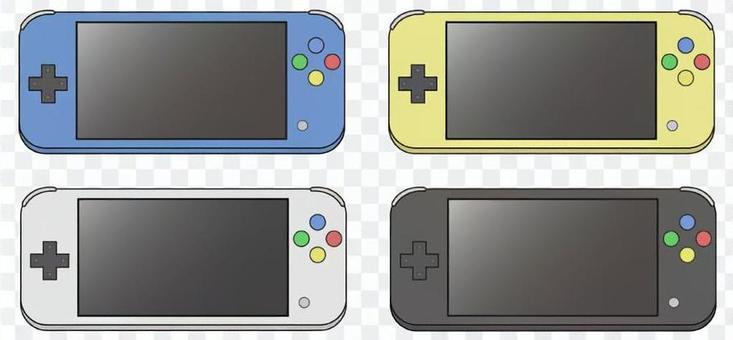 掌上游戲機4色套裝