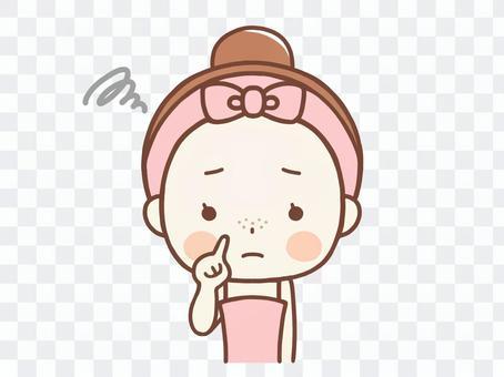 草莓鼻子的女人