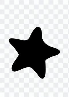 Starfish silhouette