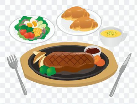 Steak set 02