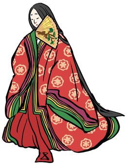 日式形象 平安時代的女性