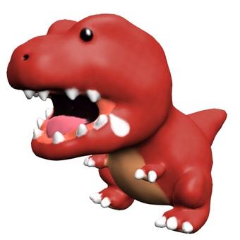 Loose Tyrannosaurus Licking CG