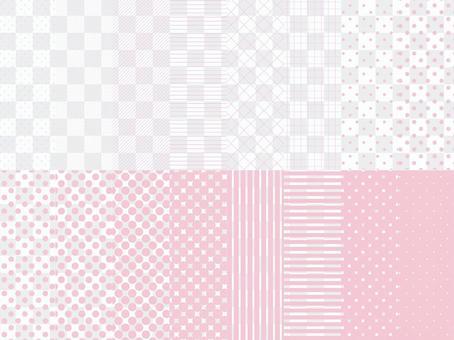 簡單的圖案色板粉紅色