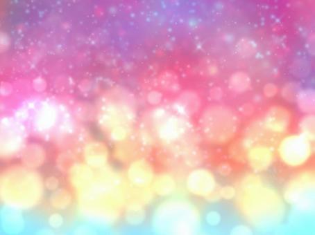 浮華空間粉紅色壁紙
