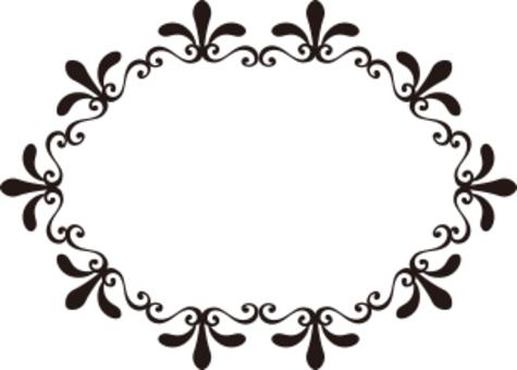 植物裝飾框架