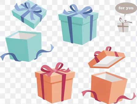 禮品盒_打開蓋子