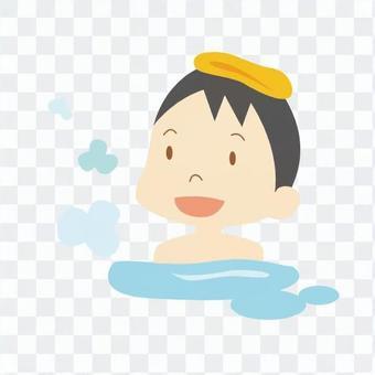 人们洗澡01