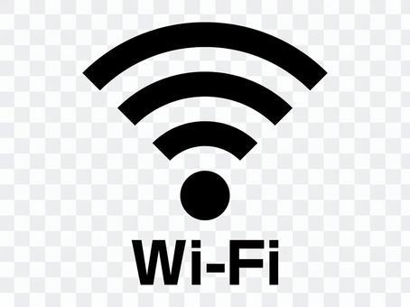 帶標記字符的Wi-Fi(WiFi)